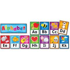 Carson-Dellosa PreK-Grade 2 Alphabet Bulletin Brd Set - Theme/Subject: Learning - Skill Learning: Alphabet, Decoration - 27 Pieces - 4-8 Year