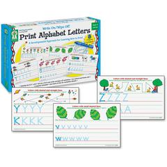 Carson-Dellosa PreK-Grade 1 Alphabet Erasable Activity Set - Theme/Subject: Learning
