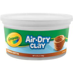Crayola Air-Dry Clay - Art, Craft - 1 Each - Terra Cotta