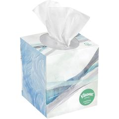 Kleenex Soothing Lotion Tissue - 3 Ply - White - Anti-viral - 75 Sheets Per Box - 27 / Carton