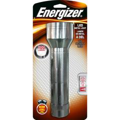 Energizer LED Metal Flashlight - D - AluminumCasing - Silver