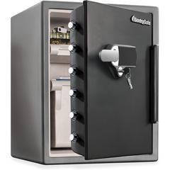 Fire-Safe Digital Alarm Water/Fire-resistant Safe - Fire Proof - Gunmetal Black