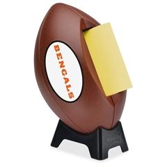 "Post-it Popup Football Team Logo Note Dispenser - 3"" x 3"" - Holds 50 Sheet of Note - Orange"
