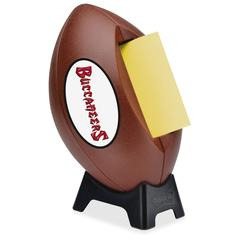 "Post-it Popup Football Team Logo Note Dispenser - 3"" x 3"" - Holds 50 Sheet of Note - Pewter"