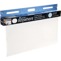 """Quartet® Anywhere™ Dry-Erase Sheets - 480"""" (40 ft) Length - Paper - White - Wall Mount - 15 / Each"""