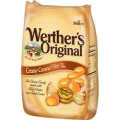Werther's Original Storck Caramel Hard Candies - Caramel - 1.87 lb - 1 / Bag