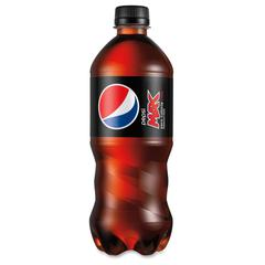 Max Cola Bottled Beverage - Soda, Cola Flavor - 20 fl oz - Bottle - Black, Red - 24 / Carton