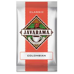 DS Services Javarama Colombian Coffee Packs - Regular - Colombian - 2 oz Per Pack - 24 Packet - 24 / Carton