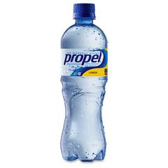 Propel Zero Calorie Water Beverage with Vitamins - Lemon Flavor - 16.90 fl oz (500 mL) - Bottle - 24 / Carton