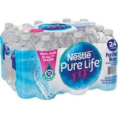 Pure Life Purified Bottled Water - 16.91 fl oz (500 mL) - 1872 / Pallet
