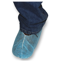 Impact Products Disposable Shoe Protectors - Extra Large Size - Chemical Protection - Polypropylene - Blue - 150 / Carton