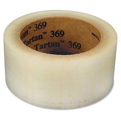 "Tartan General Purpose Packaging Tape - 1.89"" Width x 109.36 yd Length - 3"" Core - Polypropylene Film Backing - Long Lasting, Light Duty - 36 / Carton - Clear"