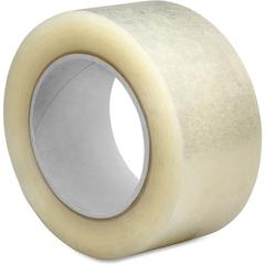 "Sparco 2.5mil Hot-melt Sealing Tape - 3"" Width x 110 yd Length - Long Lasting, Easy Unwind - 24 / Carton - Clear"