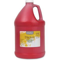 Handy Art Little Masters Tempera Paint Gallon - 1 gal - 1 Each - Red