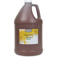 Handy Art Little Masters Tempera Paint Gallon - 1 gal - 1 Each - Brown