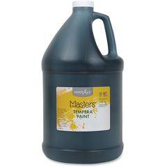 Handy Art Little Masters Tempera Paint Gallon - 1 gal - 1 Each - Black