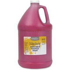 Handy Art L.Masters Washable Tempera Paint Gallon - 1 gal - 1 Each - Magenta