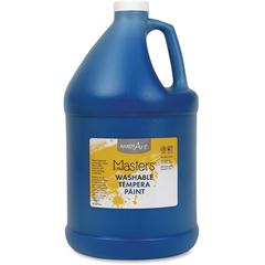 Handy Art L.Masters Washable Tempera Paint Gallon - 1 gal - 1 Each - Blue