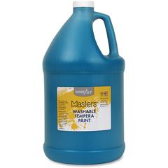 Handy Art L.Masters Washable Tempera Paint Gallon - 1 gal - 1 Each - Turquoise