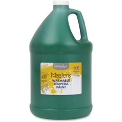Handy Art L.Masters Washable Tempera Paint Gallon - 1 gal - 1 Each - Green