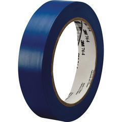 3M™ General Purpose Vinyl Tape 764 Blue - 1 in x 36 yd 5.0 mil - Polyvinyl Chloride (PVC) Backing - Rubber adhesive -Flexible, Removable, Residue-free - 1 Roll - Blue