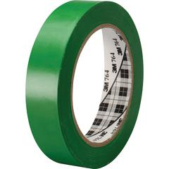 3M™ General Purpose Vinyl Tape 764 Green - 1 in x 36 yd 5.0 mil - Polyvinyl Chloride (PVC) Backing - Rubber adhesive -Flexible, Removable, Residue-free - 1 Roll - Green
