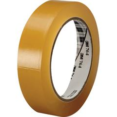 3M™ General Purpose Vinyl Tape 764 Tan Tint - 1 in x 36 yd 5.0 mil - Polyvinyl Chloride (PVC) Backing - Rubber adhesive -Flexible, Removable, Residue-free - 1 Roll - Tan Tint