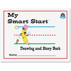 """Teacher Created Resources Grades K - 1 Drawing/Story Book - Letter - 8 1/2"""" x 11"""" - White Paper - 1Each"""