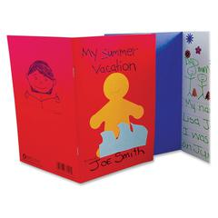 Hygloss My Storybook Blank Pages Book - 24 Pages - Ruled - Assorted Paper - 6 / Pack