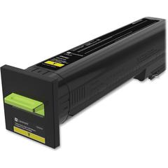 Lexmark Unison Original Toner Cartridge - Yellow - Laser - High Yield - 22000 Pages - 1 Each