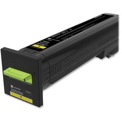 Lexmark Unison Original Toner Cartridge - Laser - High Yield - 17000 Pages - Yellow - 1 Each