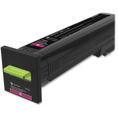 Lexmark Original Toner Cartridge - Laser - Extra High Yield - Magenta - 1 Each