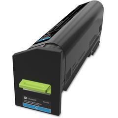 Lexmark Original Toner Cartridge - Cyan - Laser - Ultra High Yield - 1 Each