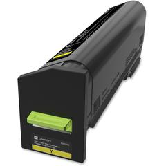 Lexmark Original Toner Cartridge - Laser - Ultra High Yield - Yellow - 1 Each