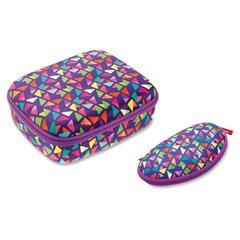 ZIPIT Colorz Lunch Box Set - Lunch Box - Purple - 1 Piece(s) Set