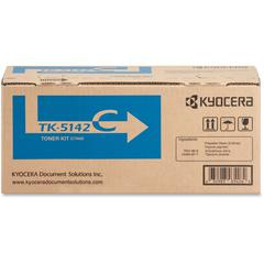 Kyocera TK-5142C Original Toner Cartridge - Cyan - Laser - 5000 Pages - 1 Each