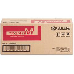 Kyocera TK-5142M Original Toner Cartridge - Magenta - Laser - 5000 Pages - 1 Each