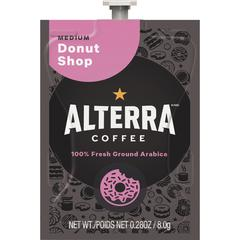 Mars Drinks Alterra Donut Shop Blend Coffee - Compatible with Flavia - Regular - Donut Shop Blend - Medium - 100 / Carton