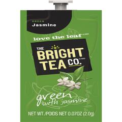 Mars Drinks Bright Tea Co Green Tea w/ Jasmine - Compatible with FlaviaGreen Tea - Jasmine - 100 / Carton