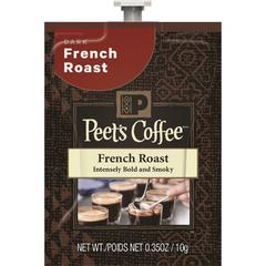 Peet's Coffee & Tea Mars Drinks Peet's French Roast Coffee - Compatible with Flavia - Regular - French Roast - Dark - 72 / Carton