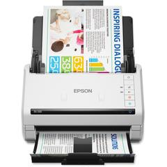 Epson WorkForce DS-530 Sheetfed Scanner - 300 dpi Optical - 30-bit Color - 24-bit Grayscale - 35 ppm (Mono) - 35 ppm (Color) - Duplex Scanning - USB