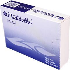 Impact Products Naturelle Maxi Pads - Individually Wrapped, Anti-leak - 250 / Carton - White