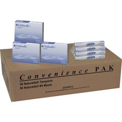 Impact Products Dual Vendor Hygiene Dispenser Convenience Pak - 100 / Carton - Individually Wrapped, Flushable, Anti-leak
