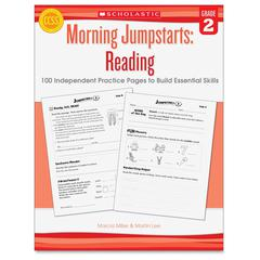 Scholastic Res. Grade 2 Jump Starts Reading Book Education Printed Book by Martin Lee - Book