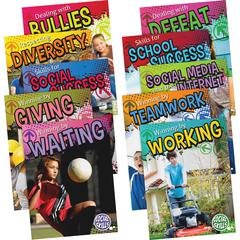 Teacher Created Resources Gr 3-5 Social Skills Book Set Education Printed Book - Book