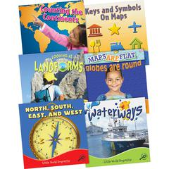 Little World Geography Set of 6 Books Education Printed Book for Social Studies - Book