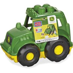 Mega Bloks First Builders John Deere Tractor Set