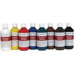 Handy Art Acrylic Paint - 8 oz - 8 / Set - Assorted