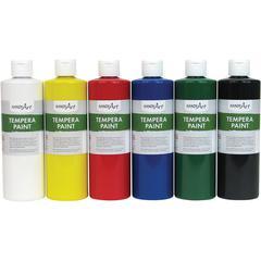 Handy Art Matte Tempera Paint - 6 / Set - Assorted