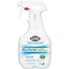 Fuzion Cleaner Disinfectant - Ready-To-Use Spray - 0.25 gal (32 fl oz) - Bottle - 1 Each - Translucent